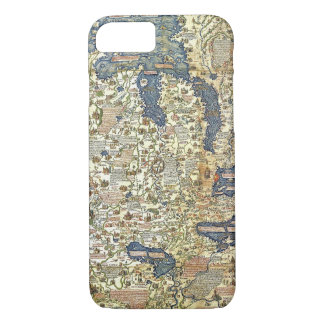 Fra Mauro Map iPhone 7 Case