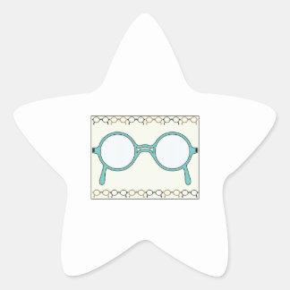 Fraamed Glasses Sticker