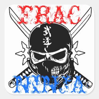 FRAC SQUARE STICKER