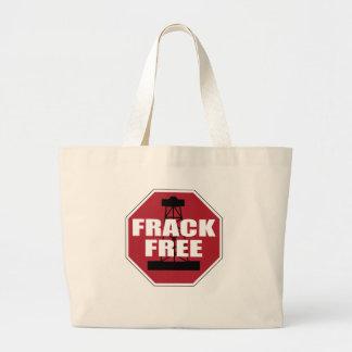 Frack Free USA Large Tote Bag