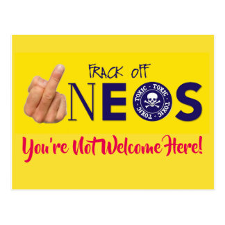 Frack Off INEOS Postcard