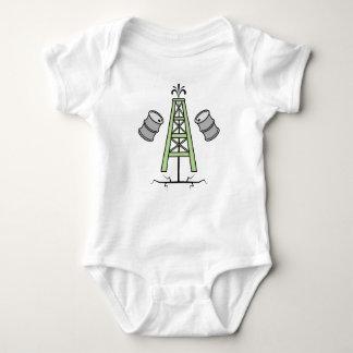 Fracking Oil Rig Baby Bodysuit