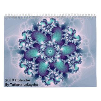 Fractal143, 2010 Calender By Tatiana LeLeysha Wall Calendar