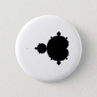 Fractal 2 Inch Round Button