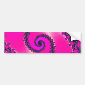 fractal-302544   fractal spiral curve helix abstra bumper sticker