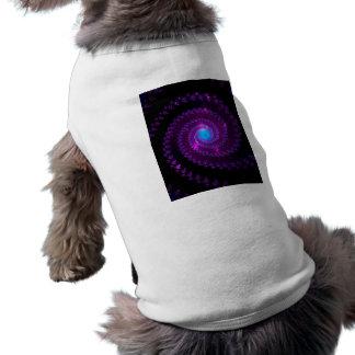 fractal-415456 fractal spiral space galaxy abstrac pet shirt