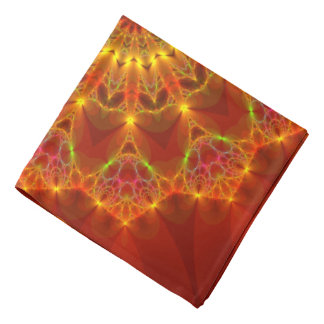 Fractal 81 an Autumn Colors Kaleidoscope Do-rag