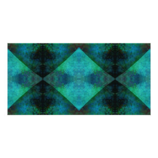 Fractal Abstract Photo Greeting Card
