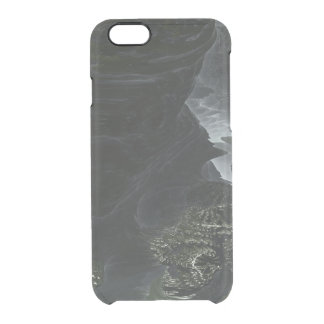 Fractal Alien Landscape Clear iPhone 6/6S Case