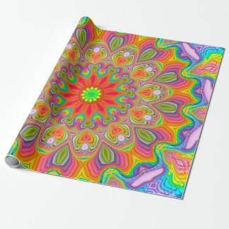 Fractal Ambrosia Delight Wrapping Paper