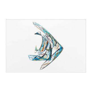 Fractal - Angelfish Acrylic Print