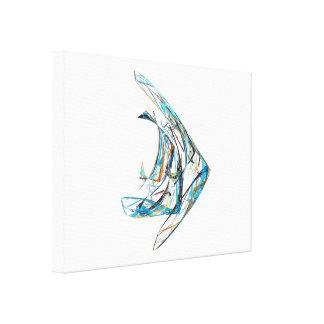 Fractal - Angelfish Canvas Print
