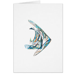 Fractal - Angelfish Card