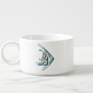 Fractal - Angelfish Chili Bowl