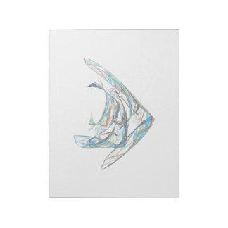 Fractal - Angelfish Notepad