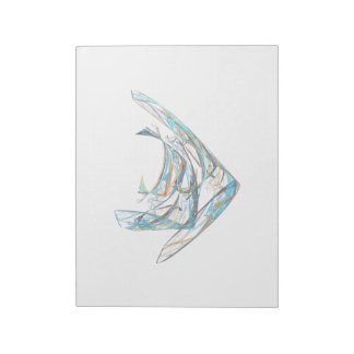 Fractal - Angelfish Notepads