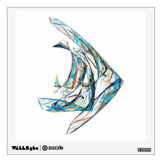Fractal - Angelfish Wall Sticker