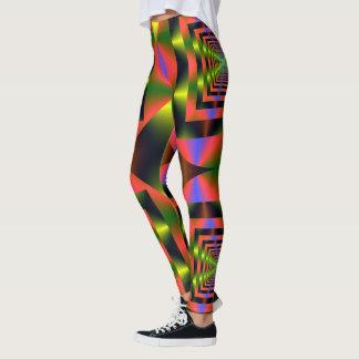 Fractal Art 115 Leggings