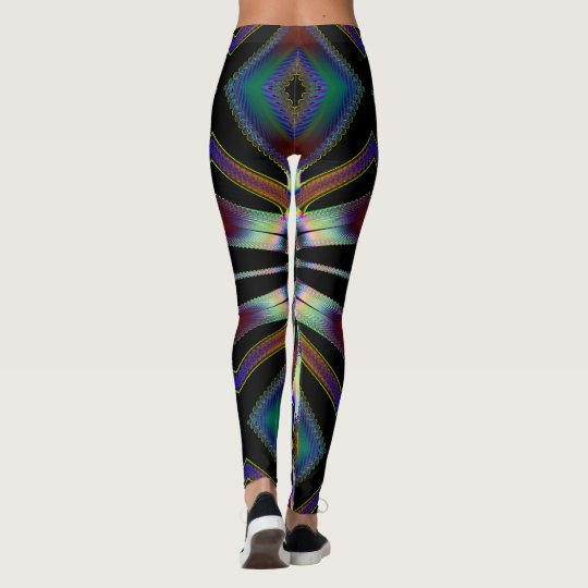 Fractal Art 166 Leggings