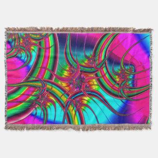 Fractal Art 23 Throw Blanket