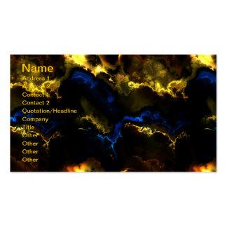 Fractal Art 3 - 11 Card Business Card