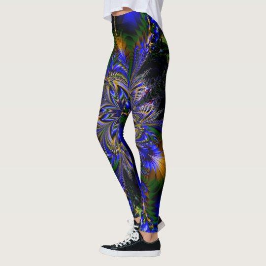 Fractal Art 90 Leggings