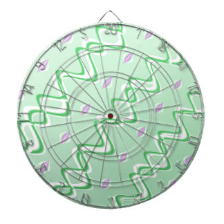 Fractal Art Blank Abstract Dartboards