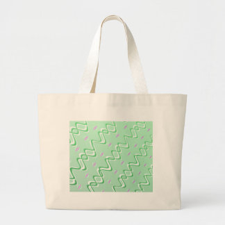 Fractal Art Blank Abstract Large Tote Bag