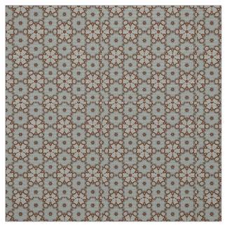 Fractal Art Material Tan Design by Artful Oasis Fabric