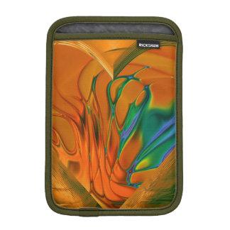 Fractal Art Moss Green iPad Mini Vertical Sleeve iPad Mini Sleeves