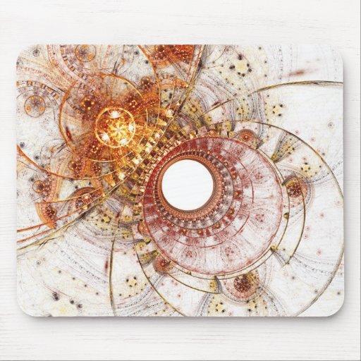 Fractal Art Mousepad: Fiery Temperament