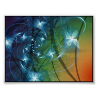 fractal art poster