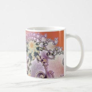 Fractal Beauty Classic White Coffee Mug