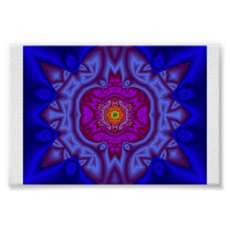 Fractal beauty poster