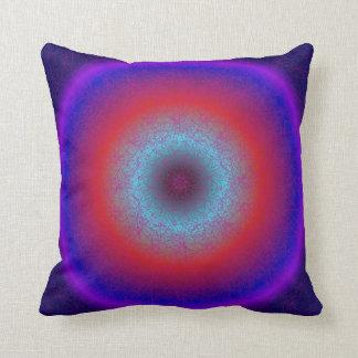 Fractal Black Hole Throw Pillow