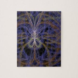 Fractal-blue -e puzzle