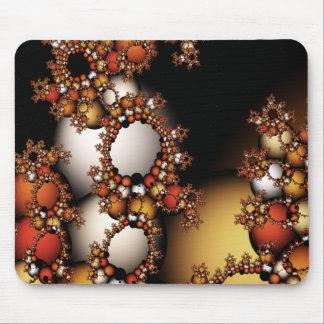 Fractal Bubbles Mouse Pad