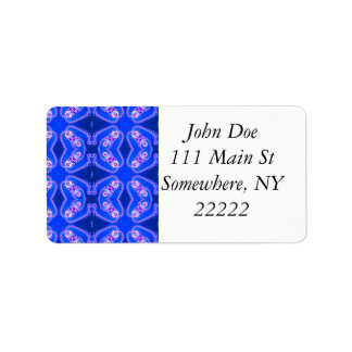 Fractal Butterfly Abstract Custom Address Labels