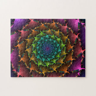 Fractal Cactus Rose Jigsaw Puzzle