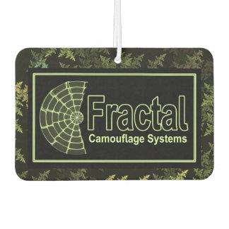 Fractal Camouflage Systems Logo Air Freshener