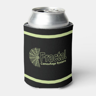 Fractal Camouflage Systems Logo Can Cooler