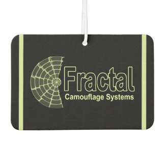 Fractal Camouflage Systems Logo Car Air Freshener