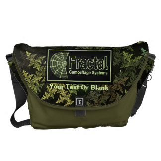Fractal Camouflage Systems Logo Courier Bag