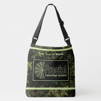 Fractal Camouflage Systems Logo Crossbody Bag