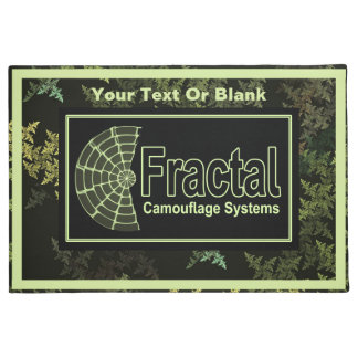 Fractal Camouflage Systems Logo Doormat