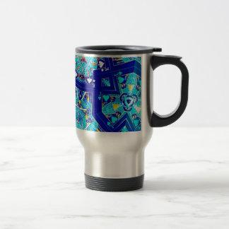 Fractal Cards 15 Oz Stainless Steel Travel Mug