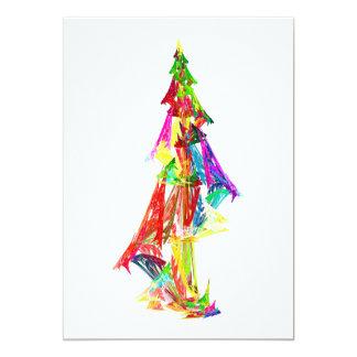 Fractal - Christmas Tree Invitation