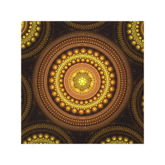 Fractal Circles Canvas Print