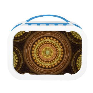 Fractal Circles Lunch Box