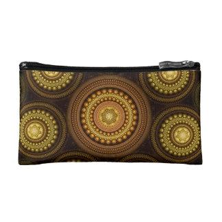 Fractal Circles Makeup Bag